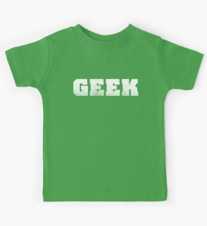 GEEK - White Kids Clothes