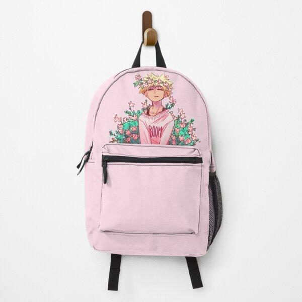 Bakugou in Pink Backpack