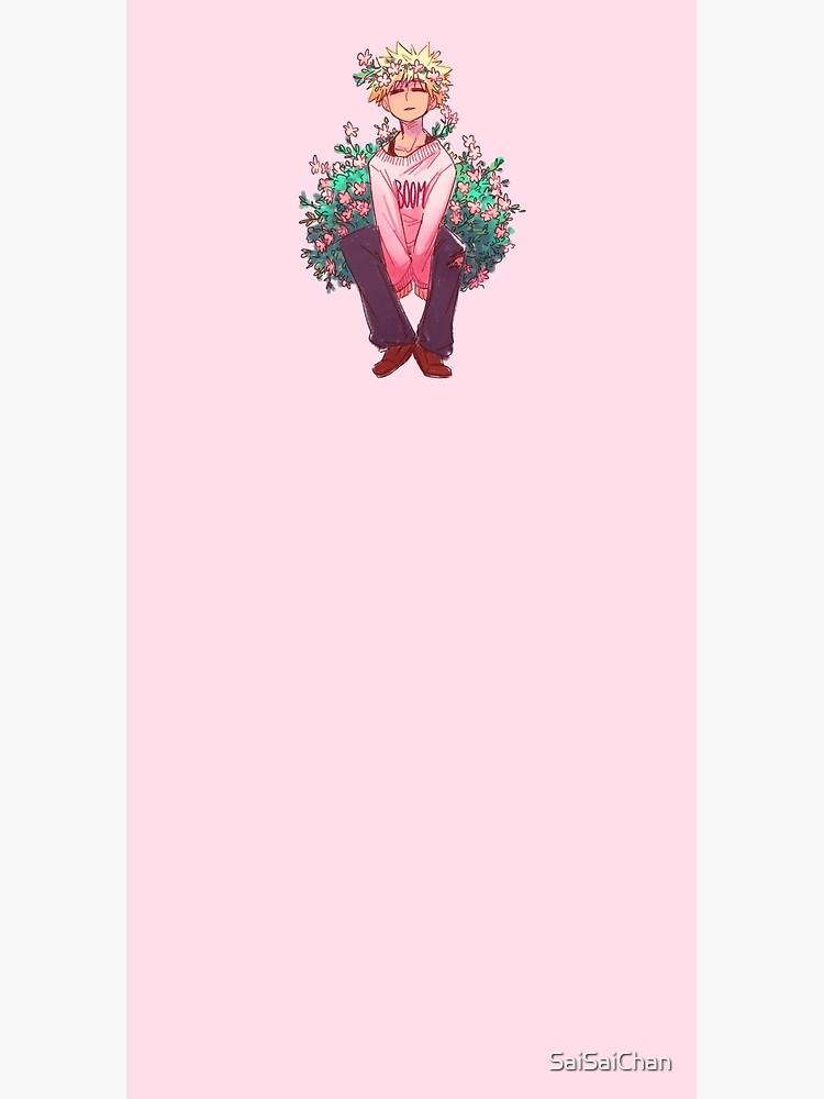 Bakugou in Pink by SaiSaiChan