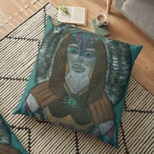 The Spiritual Warrior Floor Pillow