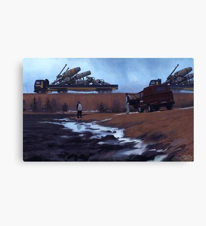 Godstransport, ASG. Canvas Print