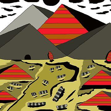 Pyramids 2 by ArtNaive