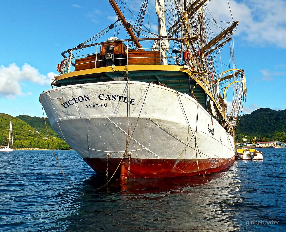 "SY ""Picton Castle"" 3 by globeboater"