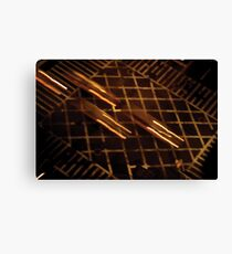 NY - intersection on Lex Canvas Print