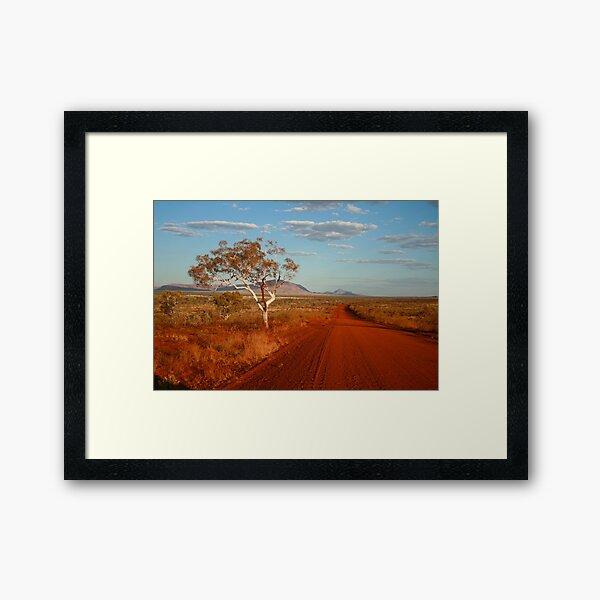 Road to Somewhere Framed Art Print