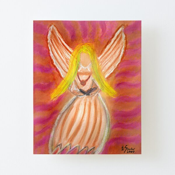 Listen to the Voice of Your Angels Canvas Mounted Print