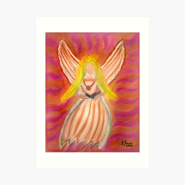 Listen to the Voice of Your Angels Art Print