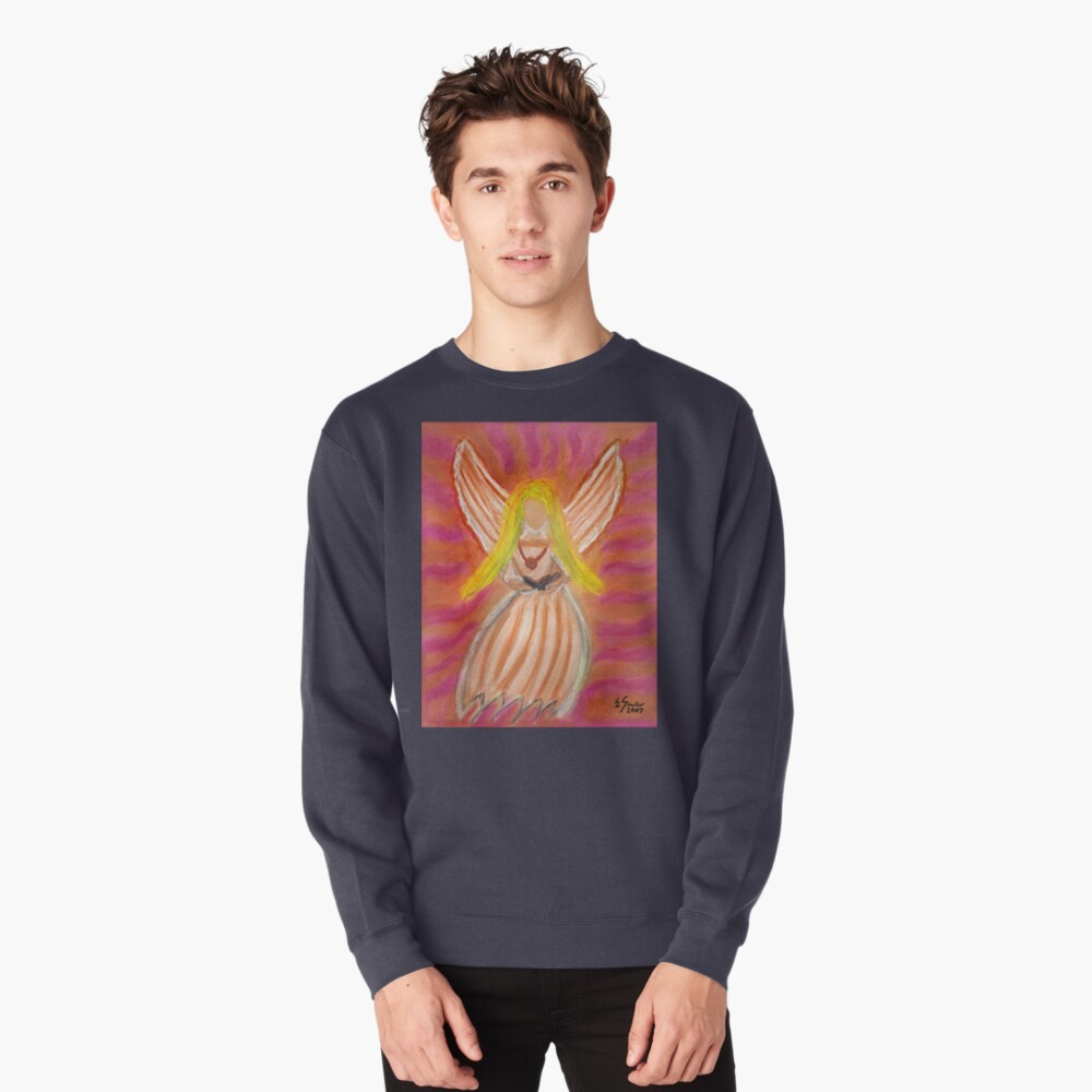 Listen to the Voice of Your Angels Pullover Sweatshirt