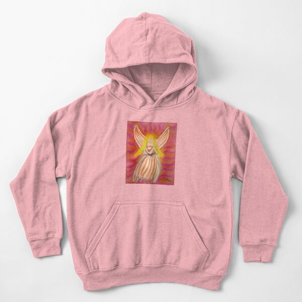Listen to the Voice of Your Angels Kids Pullover Hoodie
