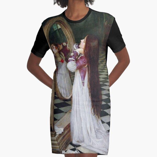 Mariana in the South - John William Waterhouse Graphic T-Shirt Dress