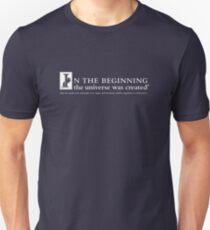 Universe Quote Slim Fit T-Shirt