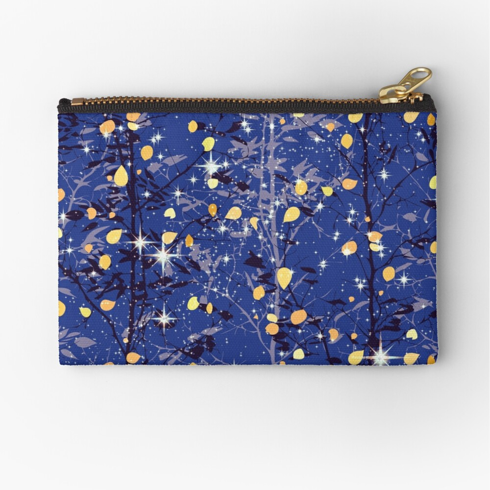 The Light Through the Trees, I Zipper Pouch