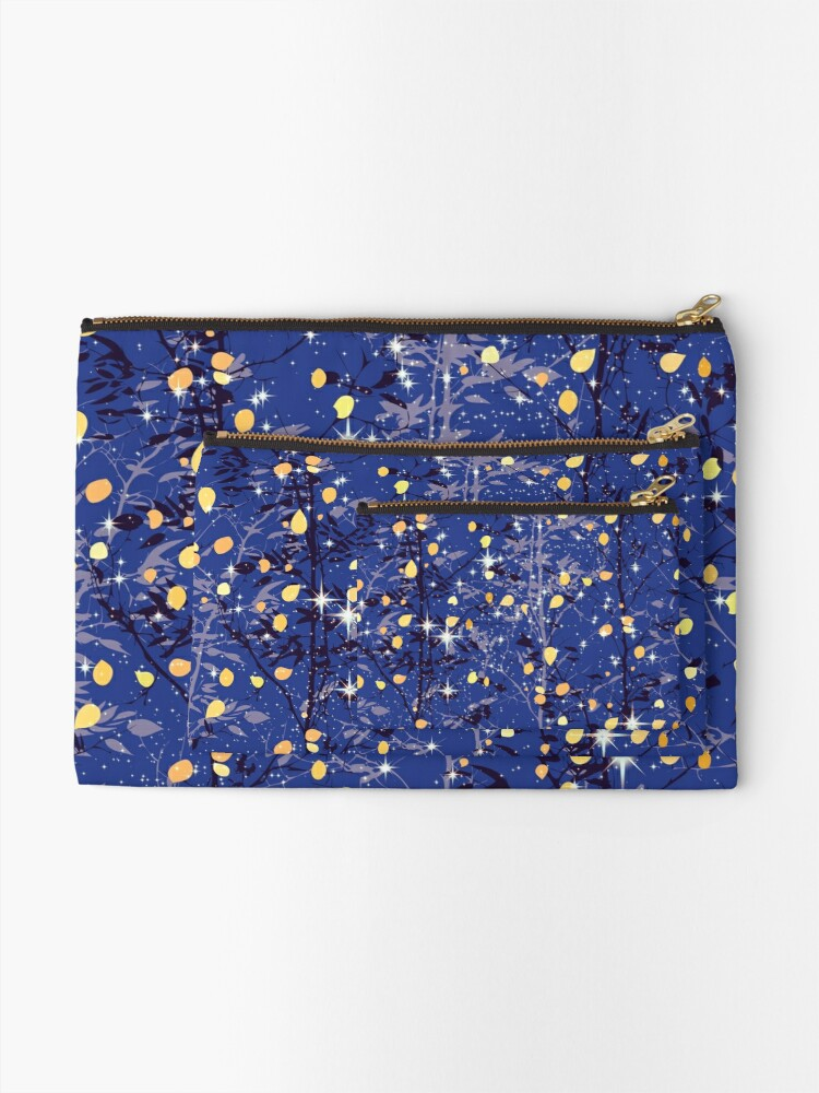 Alternate view of The Light Through the Trees, I Zipper Pouch