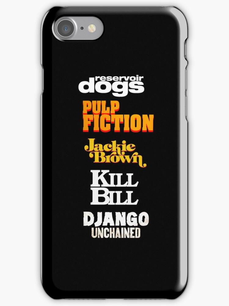 Quentin Tarantino Title Cards by kmorris-b