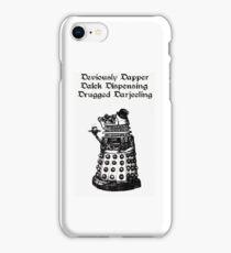 Dastardly Dalek iPhone Case iPhone Case/Skin