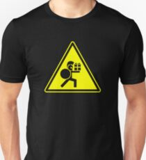 Beware Of Greeks Bearing Gifts (on black only) Unisex T-Shirt