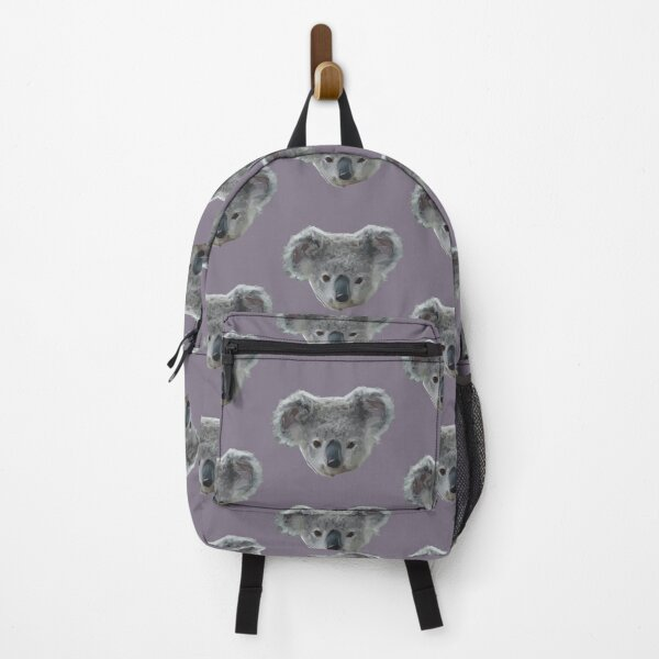 Abstract Animal Art : Hush Hush Koala Backpack