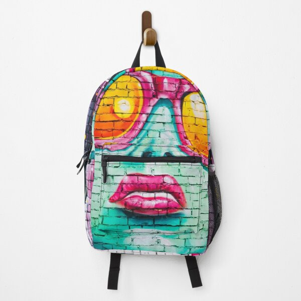 Pop Art Girl Graffiti On Shirts Bags And Home Decor Backpack