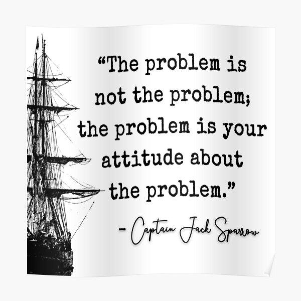 Fluch der Karibik Captain Jacks Problem Poster