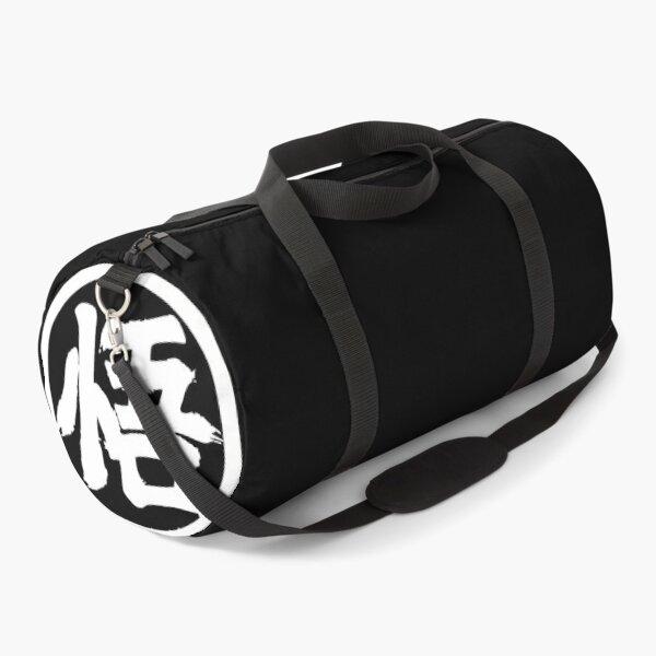 dragon ball z : King kai training (b&w) Duffle Bag