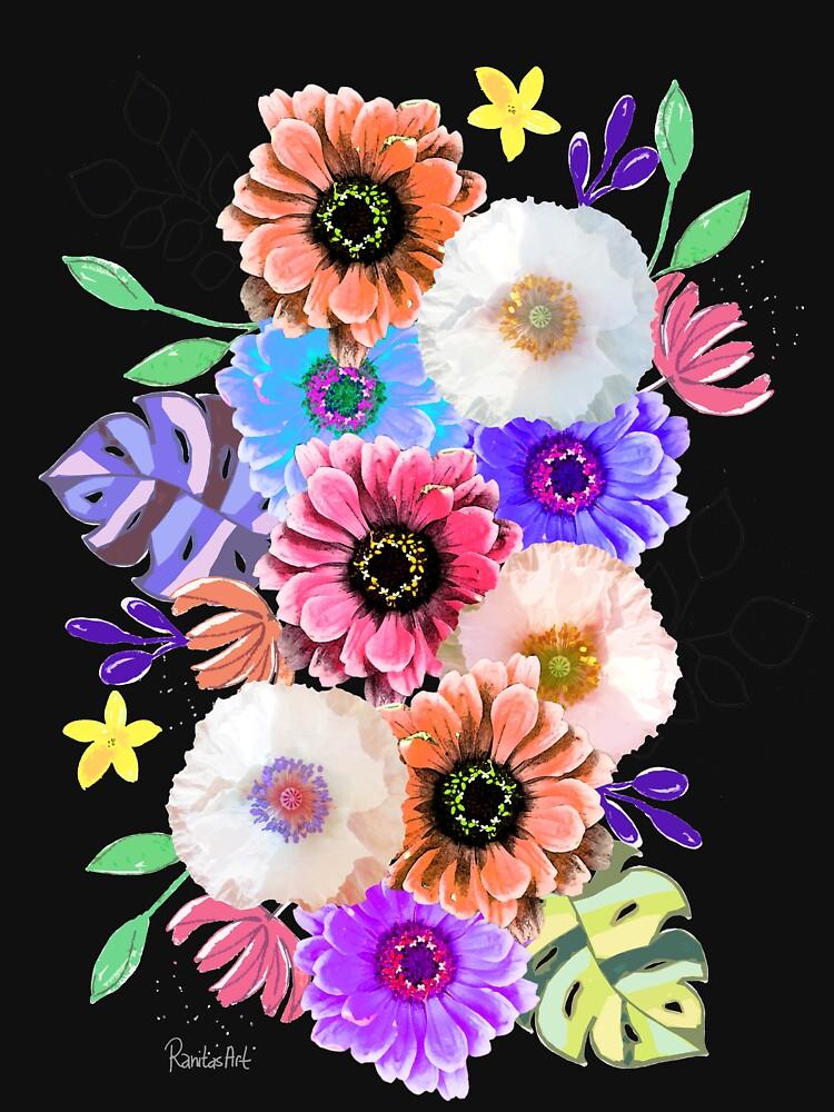 Blumen Bouquet von RanitasArt