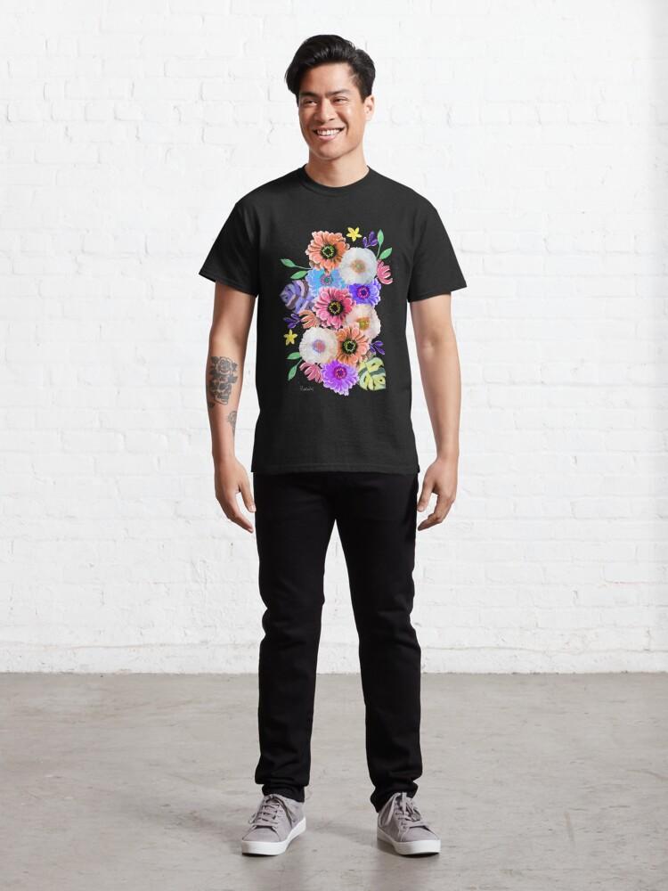 Alternative Ansicht von Blumen Bouquet Classic T-Shirt