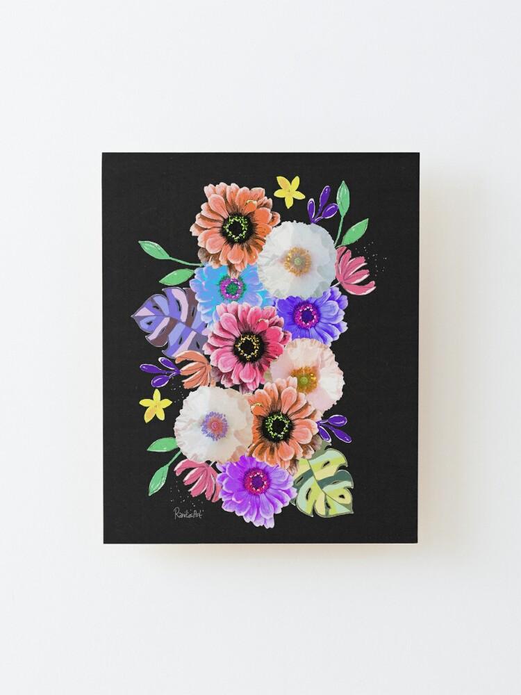 Alternative Ansicht von Blumen Bouquet Aufgezogener Druck
