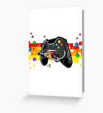 Gamer controller Greeting Card