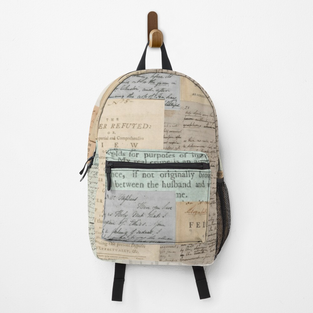 Alexander Hamilton Papers Collection Backpack