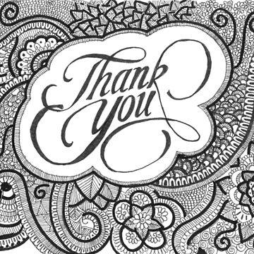 Thank You card by rkrishnappa