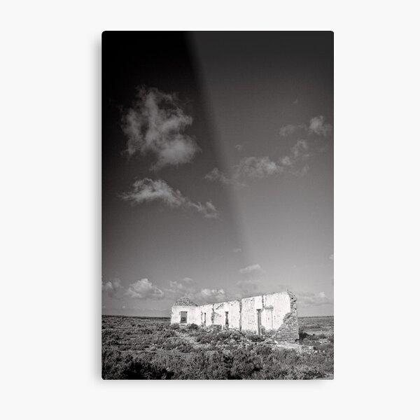 Standing in an unforgiving landscape - Flinders Ranges - South Australia Metal Print