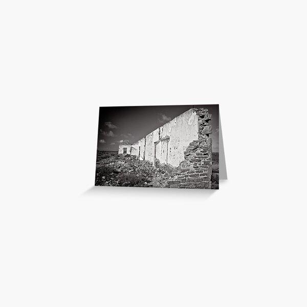 The last wall standing - Flinders Ranges - South Australia Greeting Card