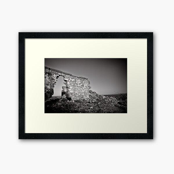 Improvised Arch - Flinders Ranges - South Australia Framed Art Print