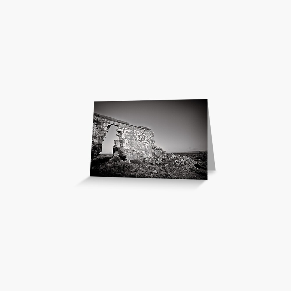Improvised Arch - Flinders Ranges - South Australia Greeting Card