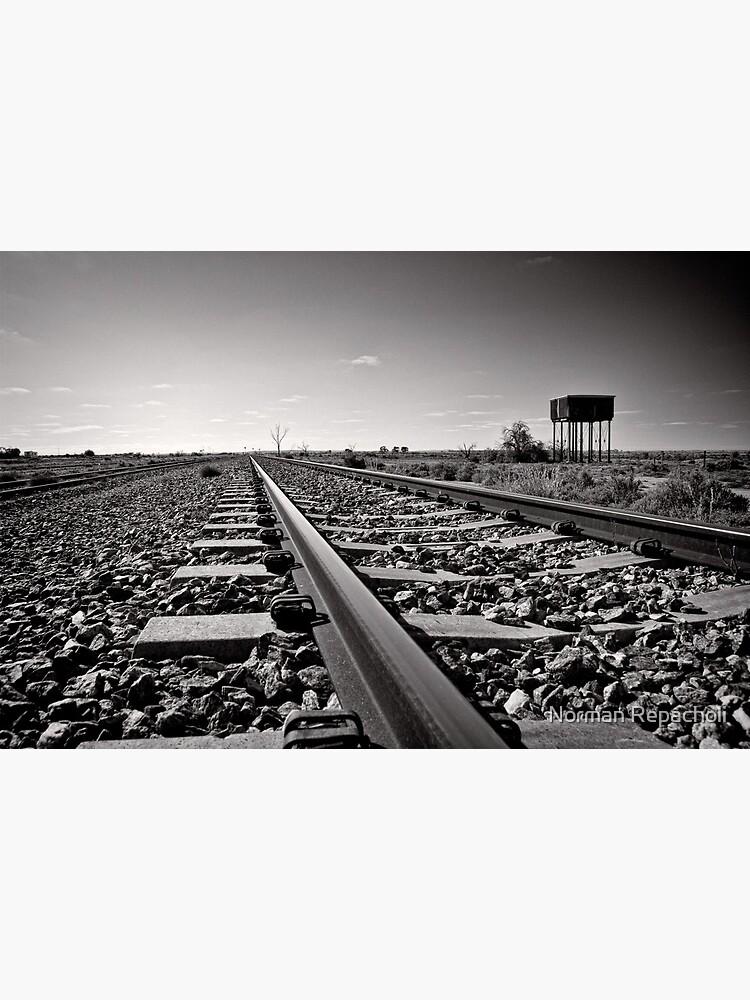 Outback Rails - Olary - South Australia by keystone