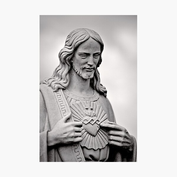 Heart of the matter - iconography Photographic Print
