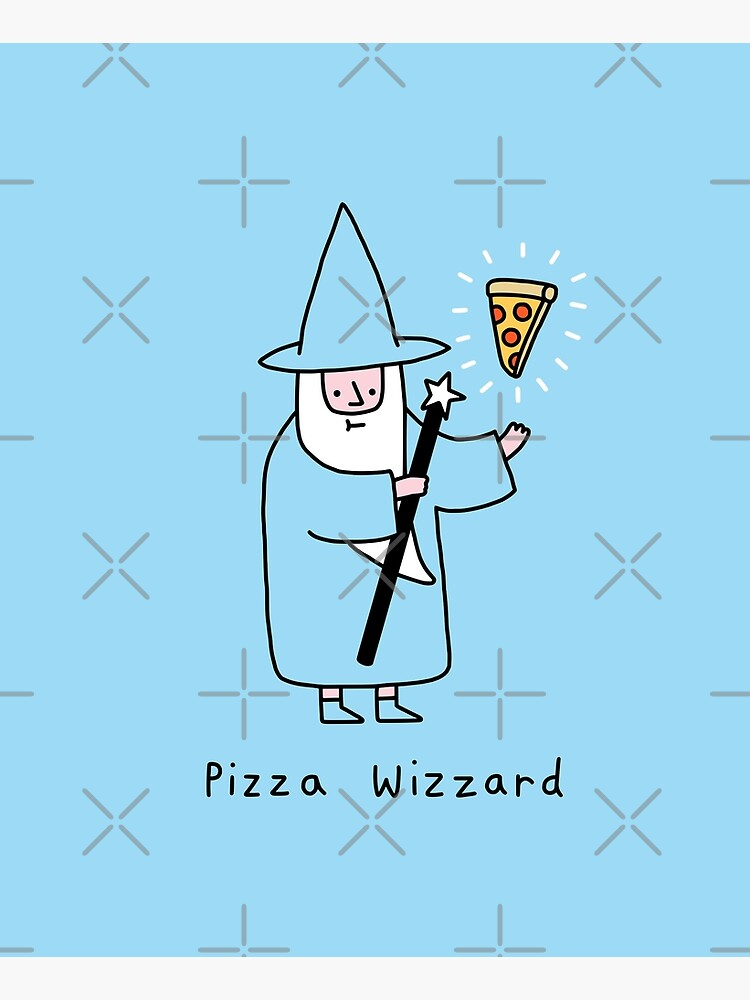 Pizza Wizzard by obinsun