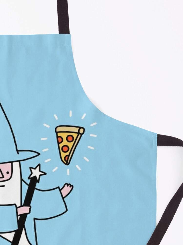 Alternate view of Pizza Wizzard Apron