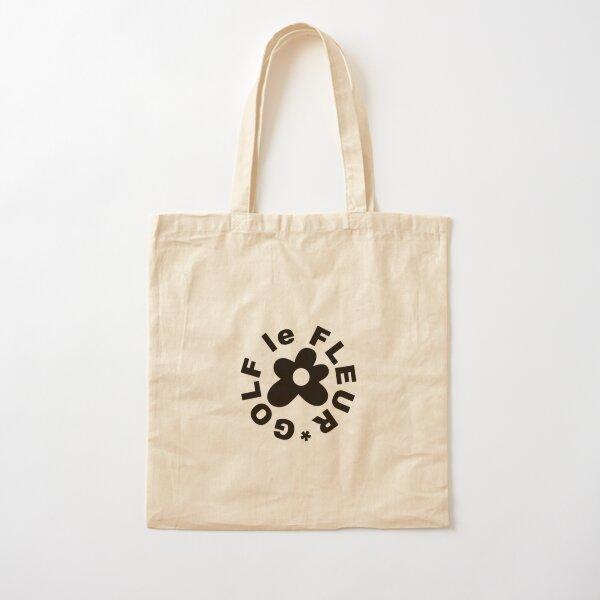 Golf Le Fleur - Black (Limited) Cotton Tote Bag