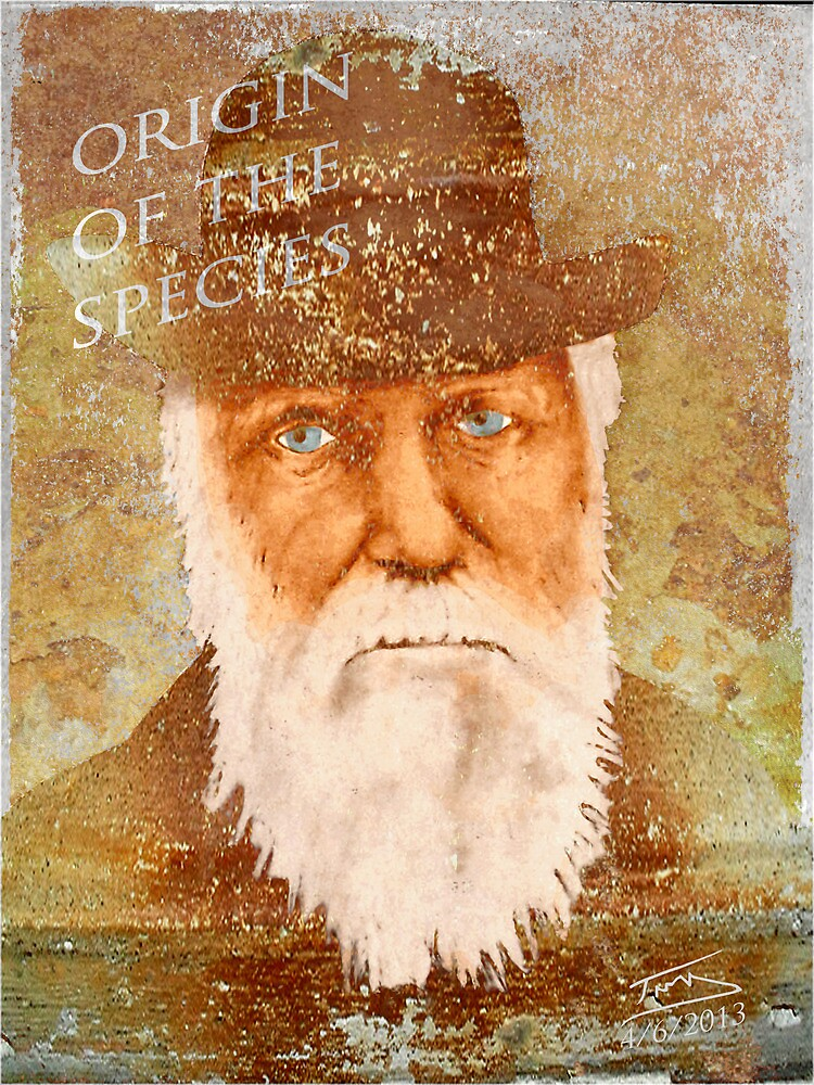 Charles Darwin by Troy Brown