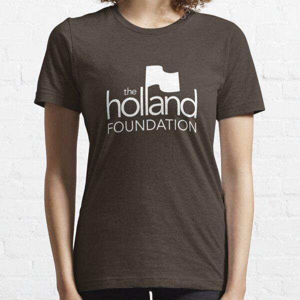 The Holland Foundation - white Essential T-Shirt