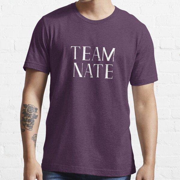 Team Nate - smaller white logo Essential T-Shirt