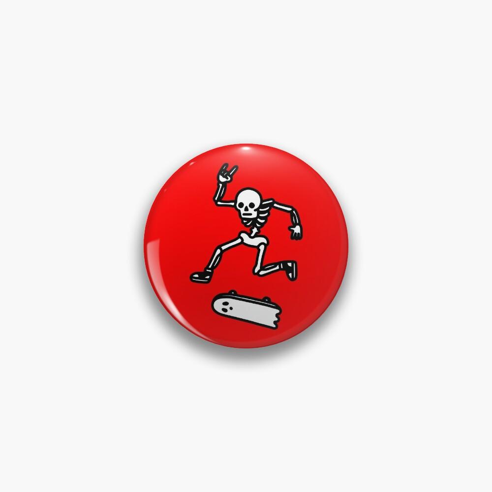 Rad In Peace Pin