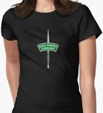 Royal Marines Commando Badge Women's Fitted T-Shirt