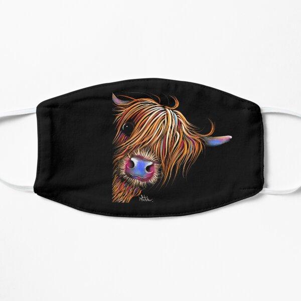 HiGHLaND CoW PRiNT SCoTTiSH ' SuGaR LuMP 2 ' BY SHiRLeY MacARTHuR Flat Mask