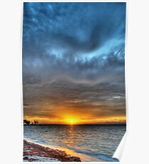 Sunrise over Yamacraw in Nassau, The Bahamas Poster
