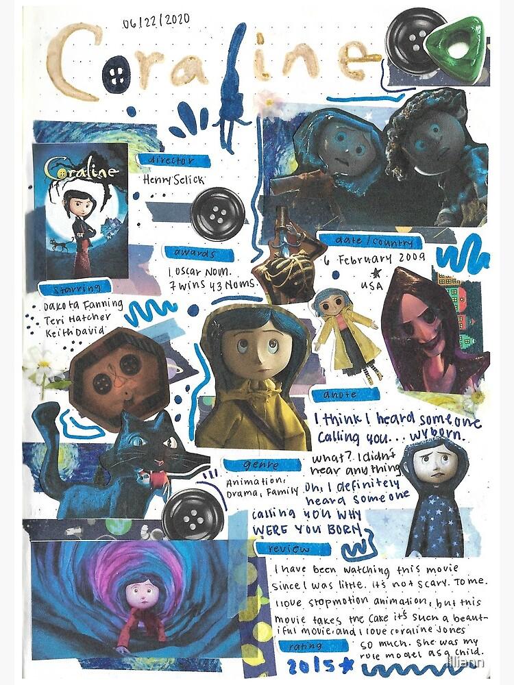 Coraline movie journal by liliann