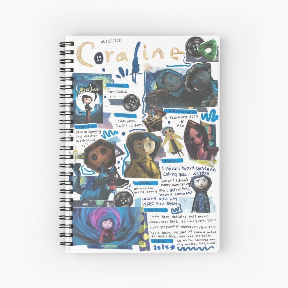 Coraline movie journal Spiral Notebook