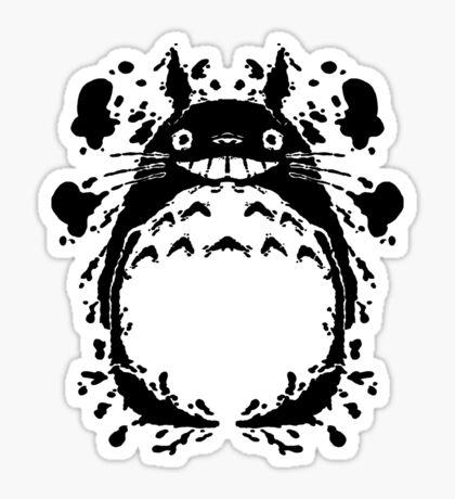 Totororschach Sticker