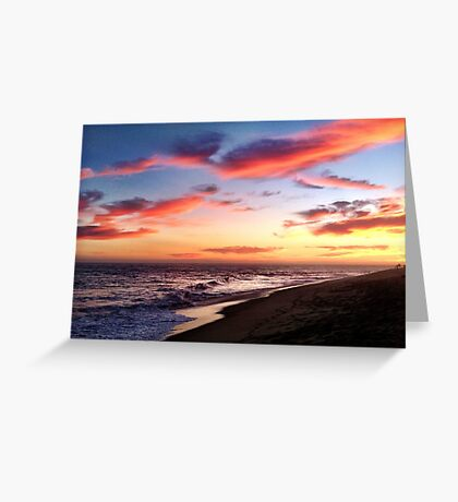 Sunset Sessions  Greeting Card